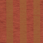 Sorrento stripe terracotta/gold