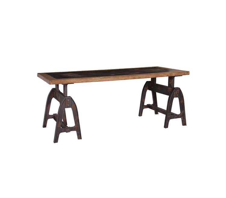 Iu05 Industrial Bench With Cast Iron Ends Drakes Bar