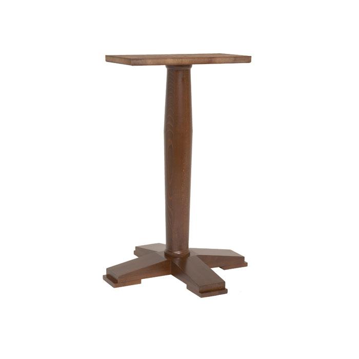 Ascot Single Pedestal Poseur T61 Drakes Bar Furniture
