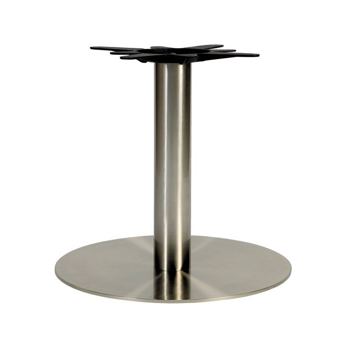 Coffee Height Round Large Table Base Round Column: Drakes Bar Furniture