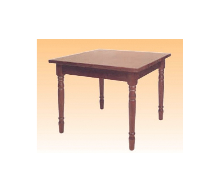 Square Table With Turned Leg T5 Drakes Bar Furniture