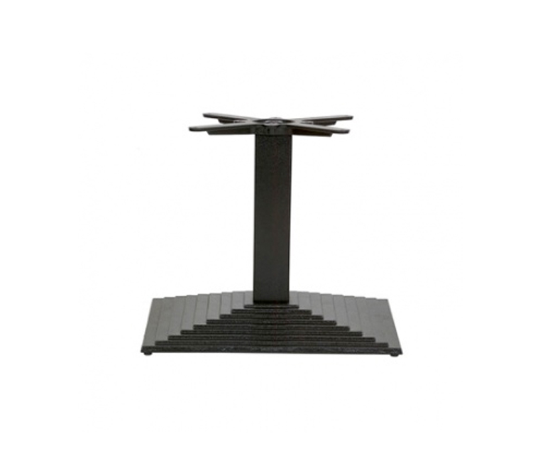 Coffee Height Square Small Table Base Round: Denton Rectangle Coffee Height Base