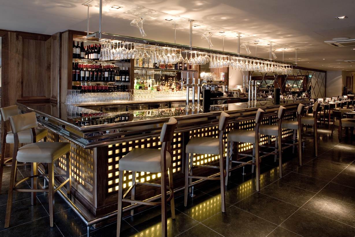 Restaurant Bar And Grill Harrogate 03 Drakes Bar Furniture