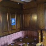 booth seating for pub