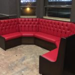 coved booth seating