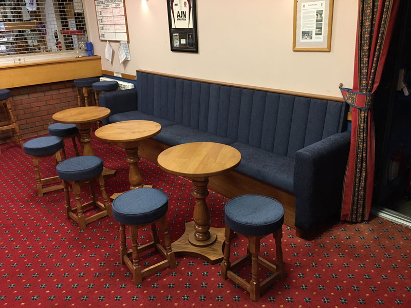 Fixed Booth Cricket Club Seating