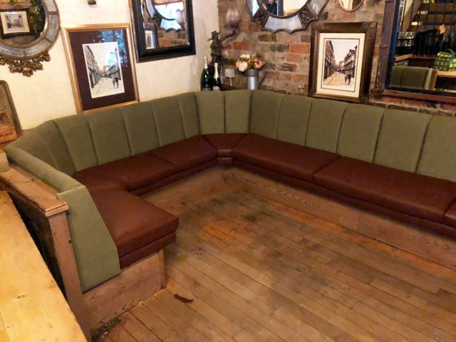 Bar fixed seating