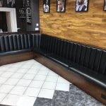 fixed seating for hairdressers
