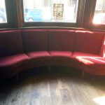 window booth seating
