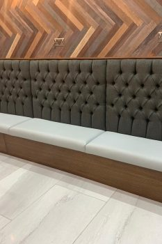 Deep button Style fixed seating